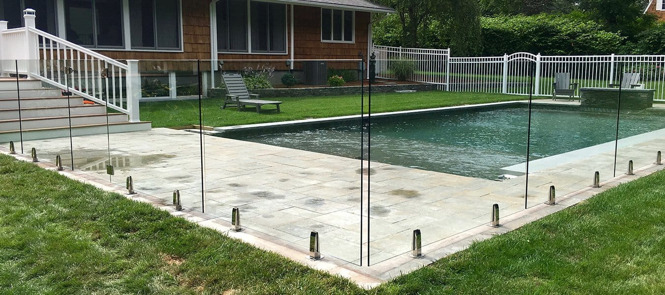 Frameless glass pool fencing Sydney