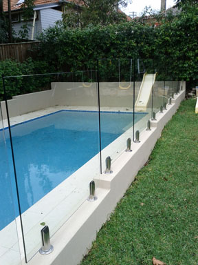 Glass pool fence Sydney